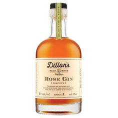Dillon's Rose Gin $24.90 LCBO 400234 The small-batch distillers out of Lincoln (off the QEW en route to Niagara) infuse their London-style gin with rose hips, rose petals and a pinch of sugar.