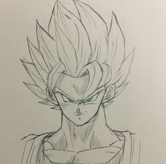 Goku Drawing, Ball Drawing, Dbz Drawings, Drawing Sketches, Manga Dragon, Hulk Art, Super Anime, Dragon Ball Z, Fan Art