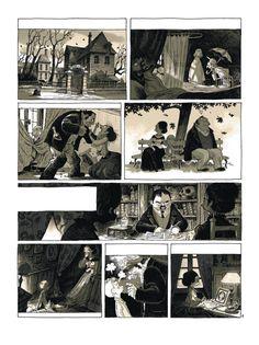 """""""Vies tranchées"""" J'ai réalisé (scénario et dessin) quatre pages pour ce collectif édité chez Delcourt (et dirigé par Jean David Morvan). Je m'occupais du soldat Lolliot. Pauvre bougre. Je me suis d'avantage attaché au traumatisme qu'il avait subi dans sa propre famille qu'à celui vécu à la guerre. C'est ce que j'avais ressenti en lisant les lettres de madame Lolliot mère. Repose en paix petit gars !"""