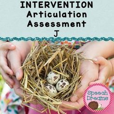 RTI Response to Intervention Articulation Assessment J FREE