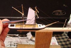 Building a Ship in a Bottle.: 14 Steps (with Pictures) Model Sailing Ships, Model Ships, Ship In Bottle, Model Ship Building, Miniature Bottles, Glass Bottles, Marines, Diy And Crafts, Pictures