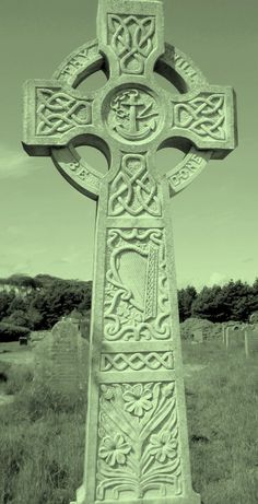 Irish Headstones Project Celtic Cross Stitch, Celtic Cross Tattoos, Celtic Crosses, Celtic Culture, Irish Culture, Irish Celtic, Celtic Art, Celtic Christianity, Irish Symbols