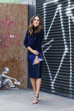 """Jimmy Choo   """"My All-Weather Must-Have: The Pencil Skirt""""   Front Roe, a fashion blog by Louise Roe"""