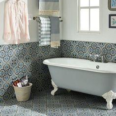 Vi ønsker dere alle en god morgen med dette lekre badet fra Original Style sin Odyssey serie 💕💕 #modenafliser