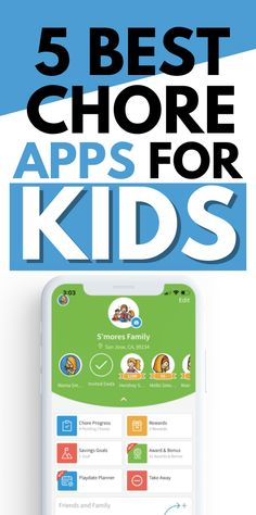 5 Amazing kid friendly apps for them to do their chores. Here's my list of the best chore apps for kids. These chore app takes the place of a chore chart, allowing your kids to see the tasks they need to complete in a digital format. So awesome and easy ways to track your kids chores. #kidschoressystem #appropriatechoresforkids Chores And Allowance, Chores For Kids By Age, Age Appropriate Chores, Chore Chart Kids, Chore List, Multiplication For Kids, Simple App, Charts For Kids, Household Chores