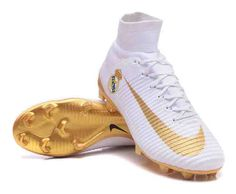 factory authentic a5ff9 b4be9 Nike Mercurial Superfly V FG With Real Madrid Patches