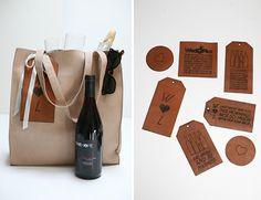 Vineyard Wedding Bag