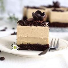 Kolaci I Torte, Tasty, Yummy Food, Mousse Cake, Food Cakes, Cake Recipes, Cheesecake, Food And Drink, Menu