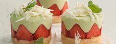 Erdbeer-Basilikum-Törtchen Rezept
