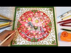 SECRET GARDEN | Prince Frog's Magical Pond | Coloring With Colored Pencils - YouTube