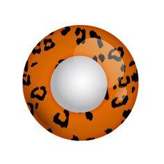 Yellow Leopard - gelb orangene Kontaktlinse von Lensspirit #contacts #contactlenses