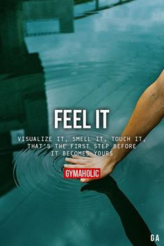 Gymaholic — Feel It Visualize it, smell it, touch it. That's...