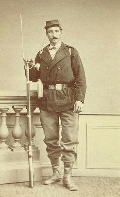 Garde mobile à Toulouse 1870