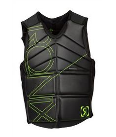 ronix womens wake board vest | On Sale Ronix Cosa Nostra Wakeboard Vest Black/Lambo Verde up to 40% ...