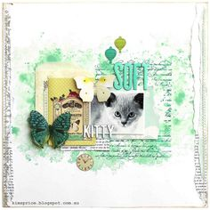 BEAUTIFUL Postcards From Paris II layout! Soft Kitty - sketch365 December 2013 FB | Flickr - Photo Sharing!