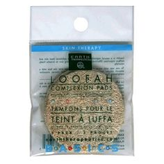 Earth Therapeutics Skin Therapy Loofah Complexion Pads (Pack of 12) by Earth Therapeutics. $20.14. Loofah complexion discs. Natural Loofah. Skin Care Exfoliation. Naturally buffs away dirt & surface impurities. Loofah is a natural vegetable cleansing fibre that exfoliates dead skin and surface impurities. Effectively unclogs pores allowing skin to breathe freely, naturally. Not tested on animals. Environmental friendly. Product of China.