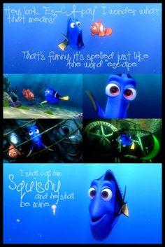 Finding Nemo...Dory my squishy