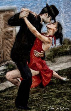 Atrapados por la imagen: Bailarines de Tango