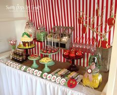 The very hungry caterpillar birthday treat table!