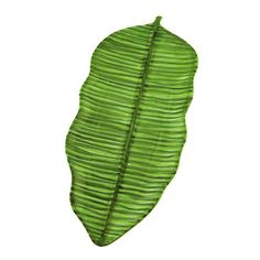 Hand-painted Green Banana Leaf Serving Platter (Italy) | Overstock.com Shopping - Great Deals on Serving Pieces