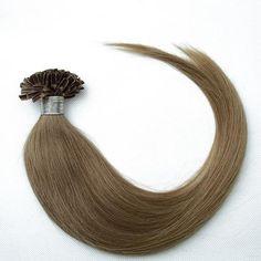100s Straight Nail/U Tip Human Hair Extensions #10 - Beauty