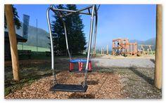 Promau:Trampolin auch für Rollstuhlfahrer Park, Parks