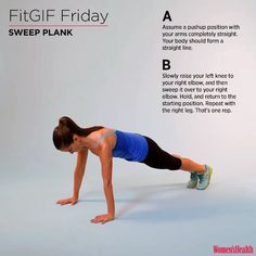 12 Great Abs Exercises You Never Heard Of – Fitness & Your Health Hiit, Cardio, Muscle Fitness, Fitness Tips, Fitness Motivation, Gain Muscle, Muscle Men, Build Muscle, Fitness Plan
