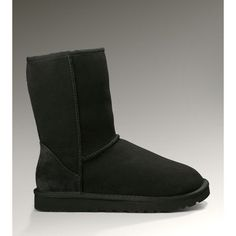 UGG Boots Black Friday 2013 store:UGG Classic Short Boots 5825 Black Cheap Sale