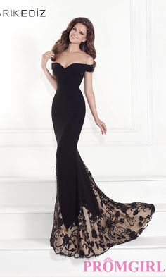 Prom Dresses, Plus Size Dresses, Prom Shoes: Off the Shoulder Sweetheart Gown by Tarik Ediz