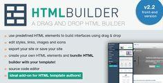HTML Builder (Front-End Version) v2.28 - CodeCanyon