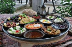 A Turkish village breakfast / Köy kahvaltısı