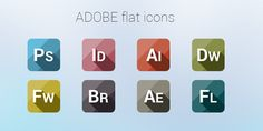 40+ Flat Icons Sets for Designers - Silky Designs - Online Magazine for Designers, Developers, and Photographers