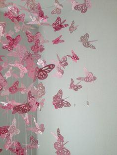 Borboleta-monarca Chandelier Móvel Perfeitamente por DragonOnTheFly