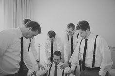 Pre-wedding prayer with groomsmen.  Lord, I pray that my grandsons will surround themselves with Godly men who they can trust to give them Godly advice.