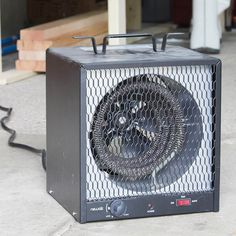 I bought this little NewAir heater (model G56) a couple of years ago for my garage workshop. I live in Minnesota, the land of subzero temps.