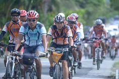 Cycling fromSabang to Padang.Indonesia