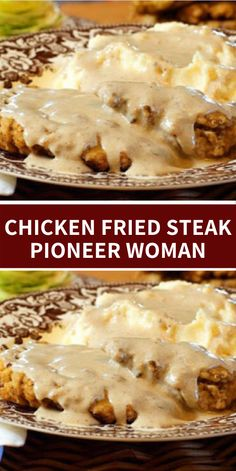Chicken Fried Steak – Pioneer Woman Chicken Fried Steak – Pioneer Woman,Chicken Recipes This recipe is packed with savory flavor and you can easily make this dish your go-to brunch option for family and. Cube Steak Recipes, Meat Recipes, Cooking Recipes, Chicken Recipes, Beef Dishes, Food Dishes, Main Dishes, Supper Recipes, Vegetarian Food