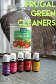 Frugal Green Cleaners :: Many store-bought household cleaners are expensive and bad for the environment. Frugal green cleaners allow you to clean your home efficiently while saving money and doing your part for the environment. Making the transition to using safe, affordable cleaning products can be easy as long as you know where to start.