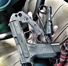 Edc gear for today from our CEO, #cz po7 gun backup light
