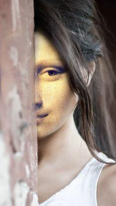 Lisa Gherardini, Real Mona Lisa, Bd Pop Art, Kreative Portraits, Mona Lisa Parody, Old Movie Posters, Classical Art, Tour Eiffel, Old Movies