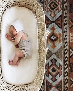 Tiny sleeping babies and moses baskets!