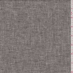 Heather dark forest green and ivory. This lighweight cotton/linen blend fabric has a very soft feel.Compare to $15.00/yd
