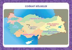 3. Sınıf Konu Anlatım Afişler Geography, Student, Map, Education, Books, Elementary Schools, Culture, School, Libros