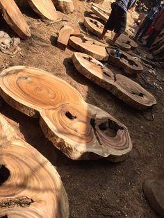 "Monkey wood coffee table 55""x30""x16""ht"