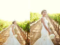 #vineyardbridalportrait stunning vineyard shot of the bride!