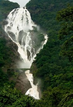 Dudhsagar Falls, #Goa