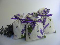 Lavender sachet bag by Crochettthings on Etsy