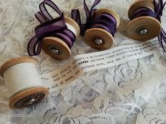 The Steampunk Bride: Reading Spools