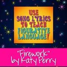 """Use Katy Perry's popular song """"Firework"""" to teach figurative language, sound devices, and other poetry terms. You can decide how many and which dev..."""