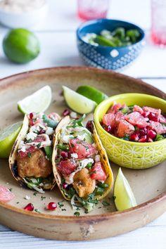 Baja Fish Tacos by mevamarie #Tacos #Fish #Baja